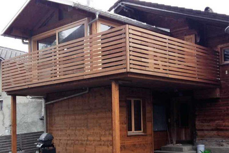 Umbauen mit Holz